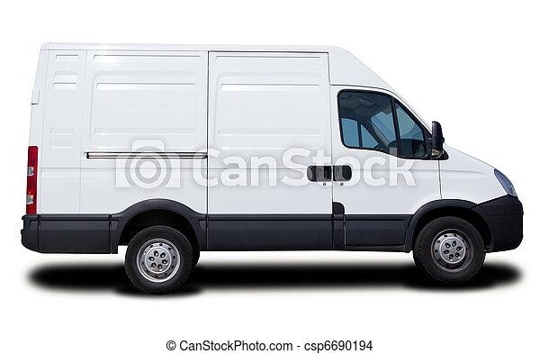 cargaison, fourgon - csp6690194
