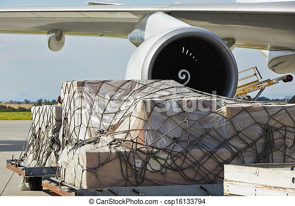 Cargo airplane - csp16133794