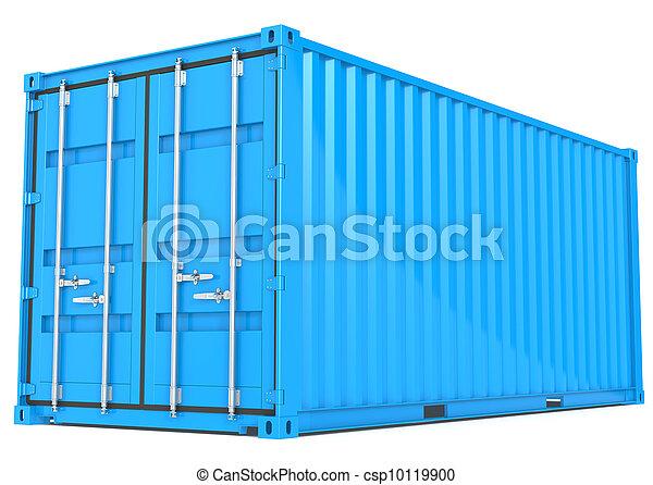 Cargo Container. - csp10119900