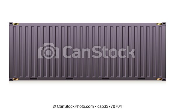 Cargo container - csp33778704