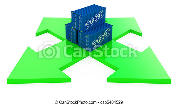 cargo containers for export - csp5484529