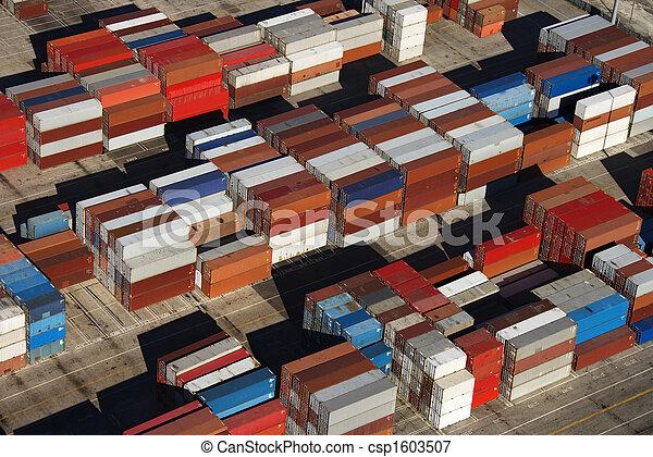 Cargo containers. - csp1603507
