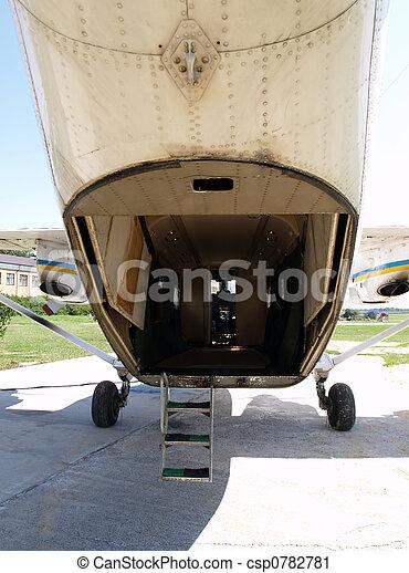Cargo door - csp0782781 & Cargo door. The an-28 aircraft rear cargo door.