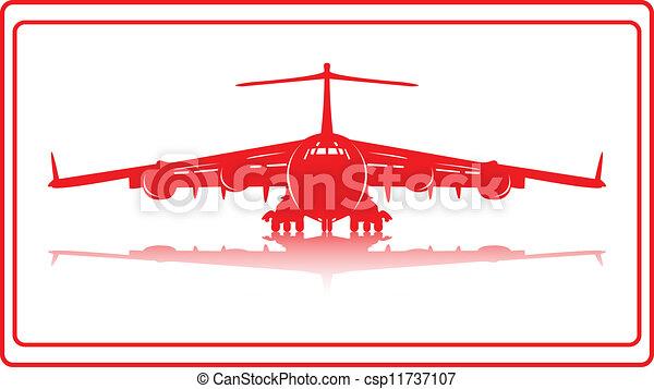 Cargo plane. - csp11737107