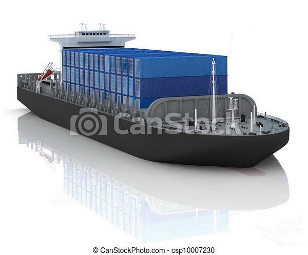cargo ship - csp10007230