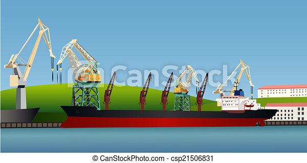 Cargo Ship - csp21506831