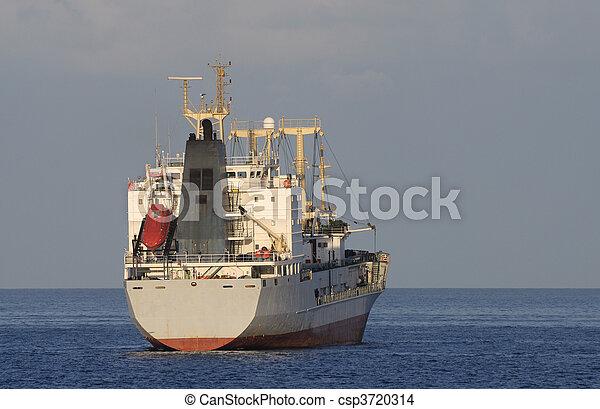 Cargo ship on the sea - csp3720314