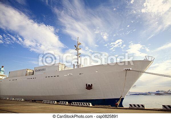 cargo ship - csp0825891