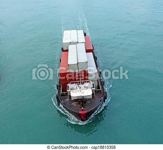 Cargo ship - csp18810358