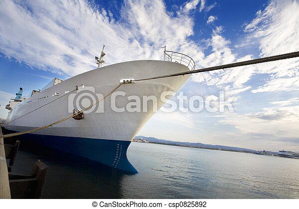 cargo ship - csp0825892