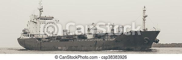 cargo ship - csp38383926