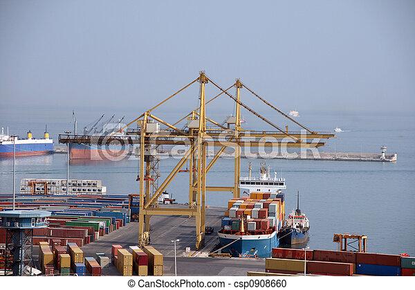 cargo ship - csp0908660