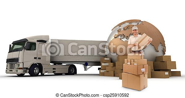 Cargo transport - csp25910592