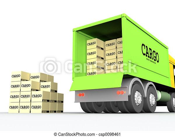 cargo-truck, #1 - csp0098461