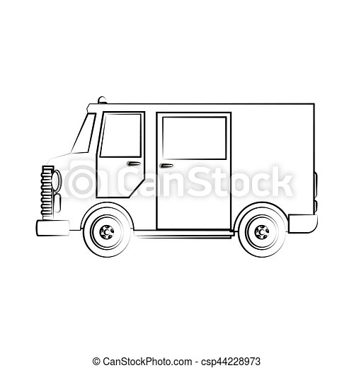 cargo truck - csp44228973