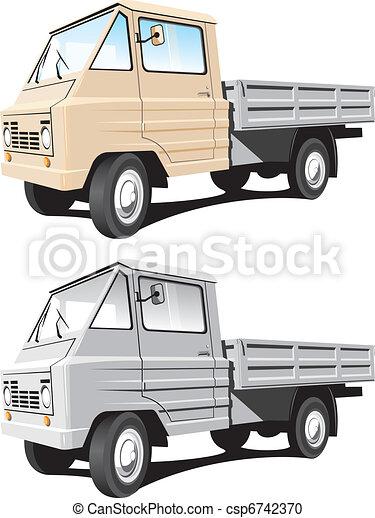Cargo truck - csp6742370