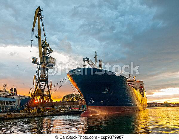 Cargo vessel - csp9379987
