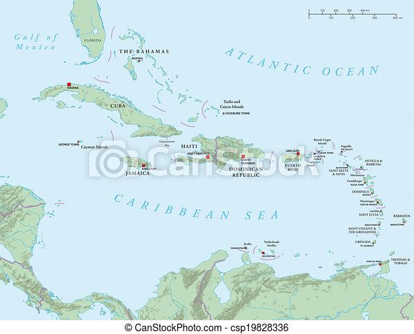Caribbean - Antilles - csp19828336