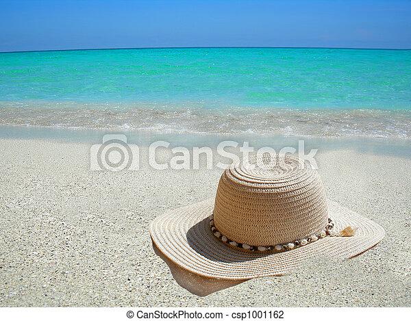 Caribbean beach hat - csp1001162