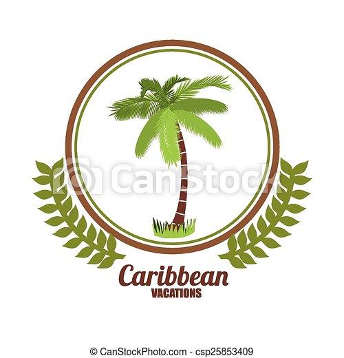 Caribbean Design - csp25853409