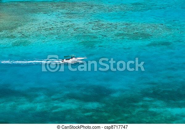 Caribbean waters - csp8717747