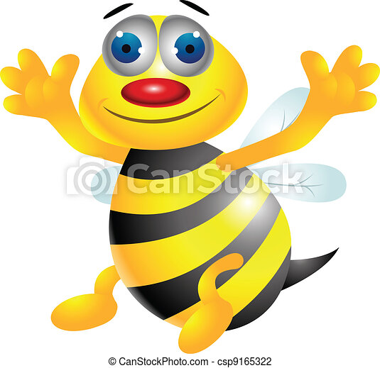 Dibujos de abejas - csp9165322