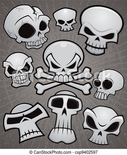 Una colección de cráneos - csp9402597