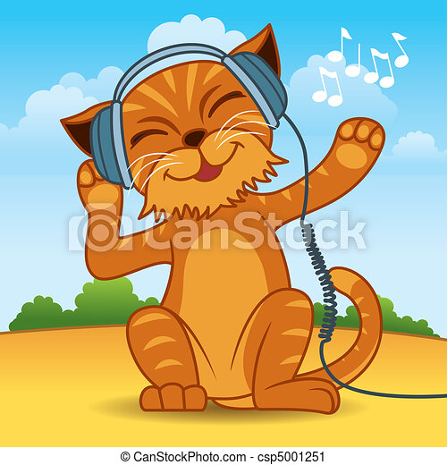 Dibujos de gatos - csp5001251