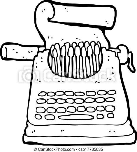 Maquinas De Escribir Dibujo
