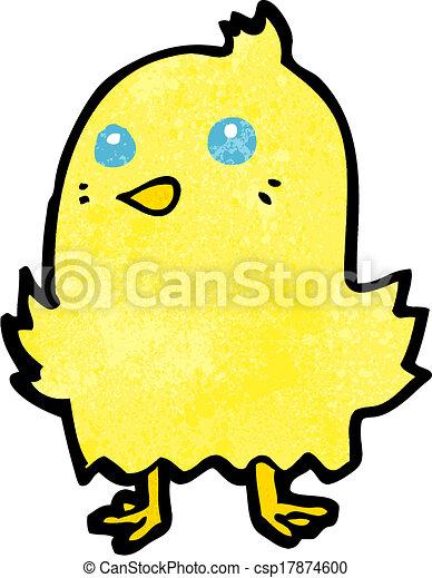 Pájaro de dibujos animados - csp17874600
