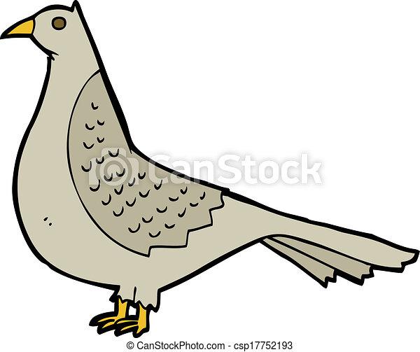 Pájaro de dibujos animados - csp17752193