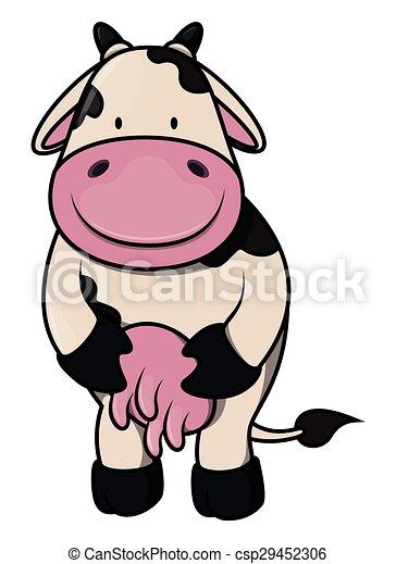 Dibujos de vacas - csp29452306