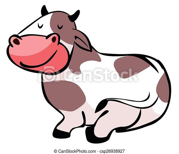 Dibujos de vacas - csp26938927