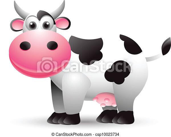 Dibujos de vaca - csp10023734