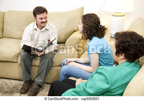 Caring Family Therapist - csp5553651