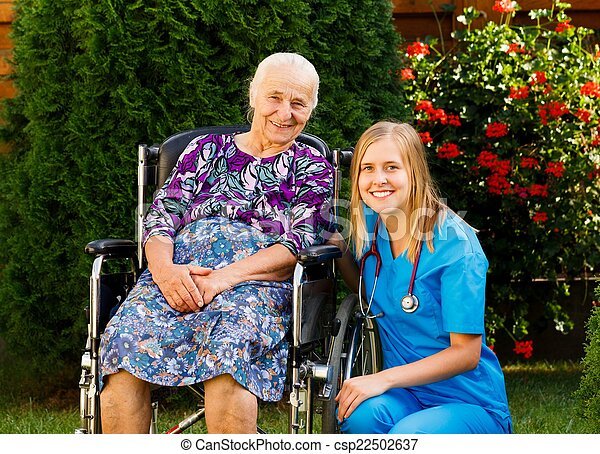 Caring for the Elderly - csp22502637