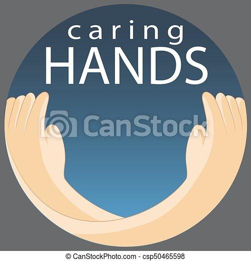 Caring Hands Symbol - csp50465598