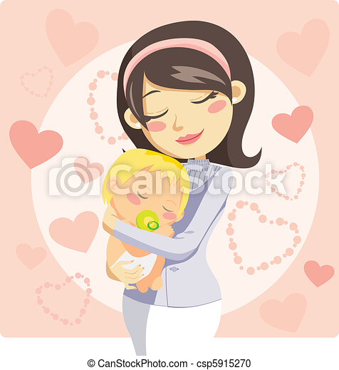 Caring Mother - csp5915270