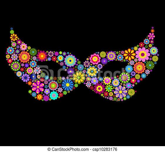 Máscara de Mardi Gras - csp10283176