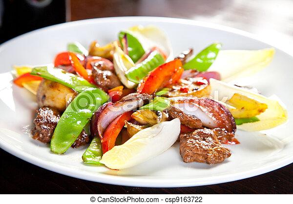 Carne asada - csp9163722
