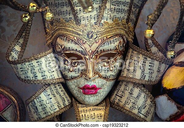 carneval, masker, venetie - csp19323212