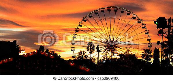 Carnival At Dusk - csp0969400