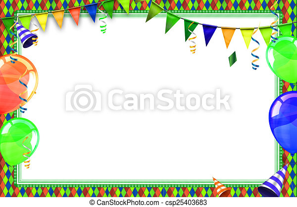 carnival background celebration background with carnival balloons