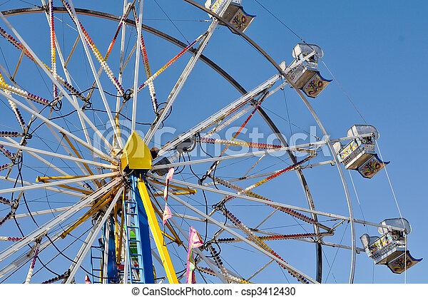 Carnival Ferris Wheel - csp3412430