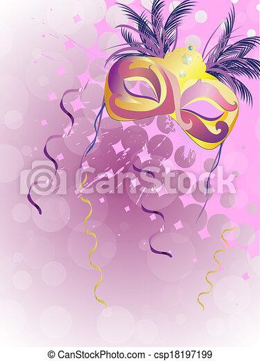 Carnival mask - csp18197199