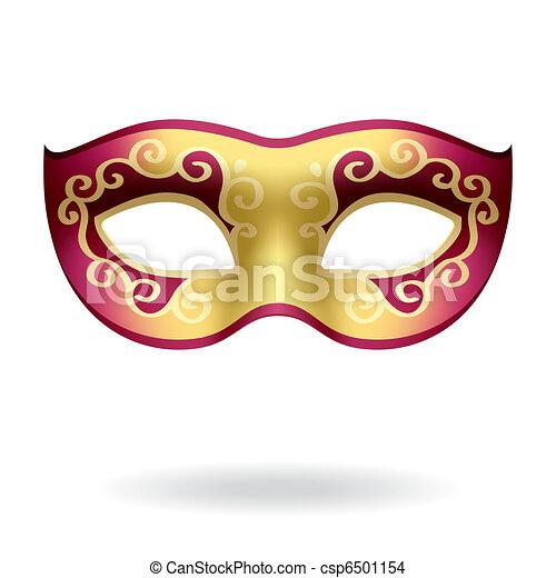 carnival mask vector illustration of a carnival mask