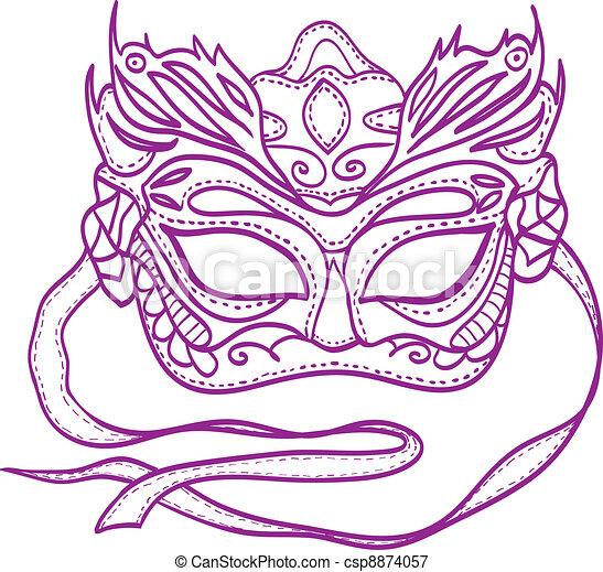 Carnival Mask - csp8874057