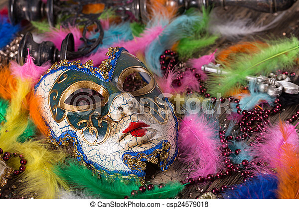 Carnival mask - csp24579018