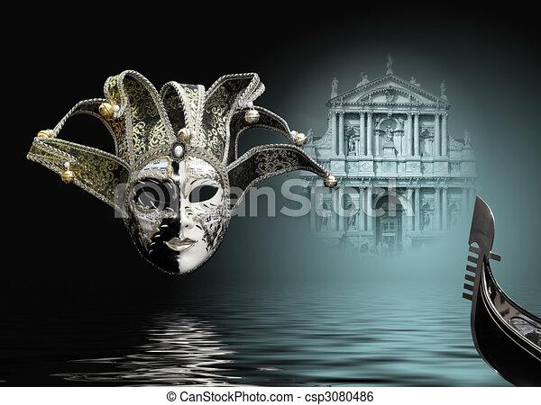 carnival mask  - csp3080486