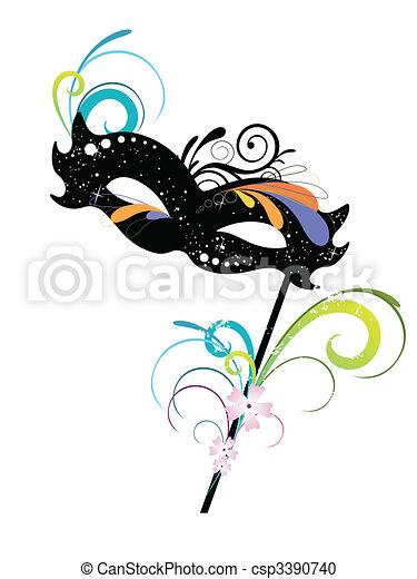 carnival mask - csp3390740